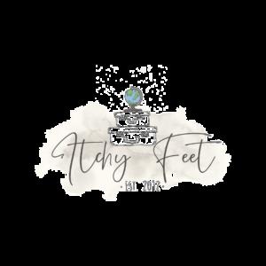 Logo ItchyFeet Reiseblog Sarah Waltinger