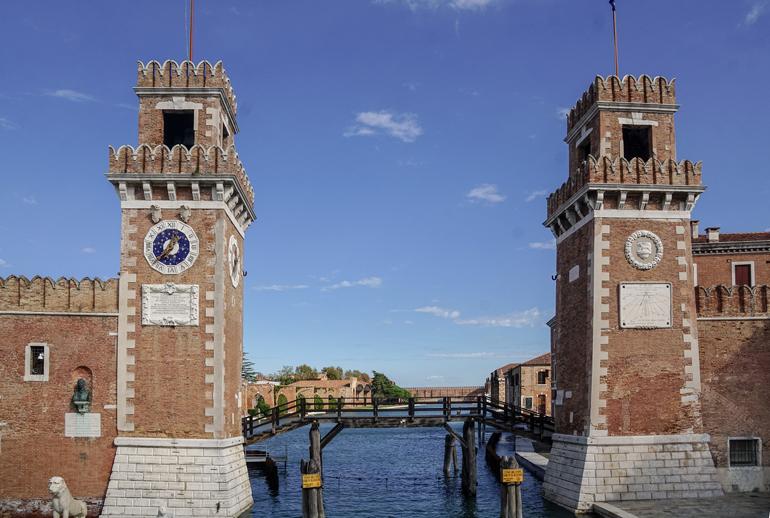 Venedig: Tor zum Arsenal