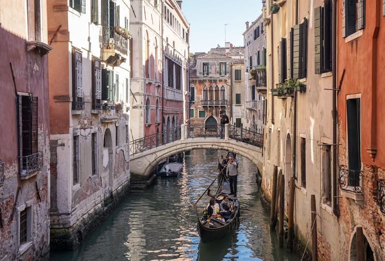 Venedig: Gondelfahrt