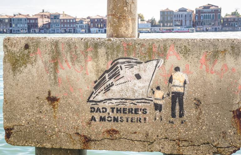 Venedig: Graffiti