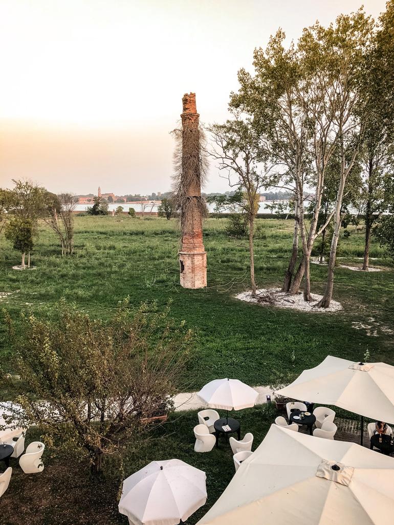 Die in der Lagune von Venedig gelegene Insel Certosa mit ihrem Hotel ist ein grünes Paradies für alle, die es etwas ruhiger lieben.