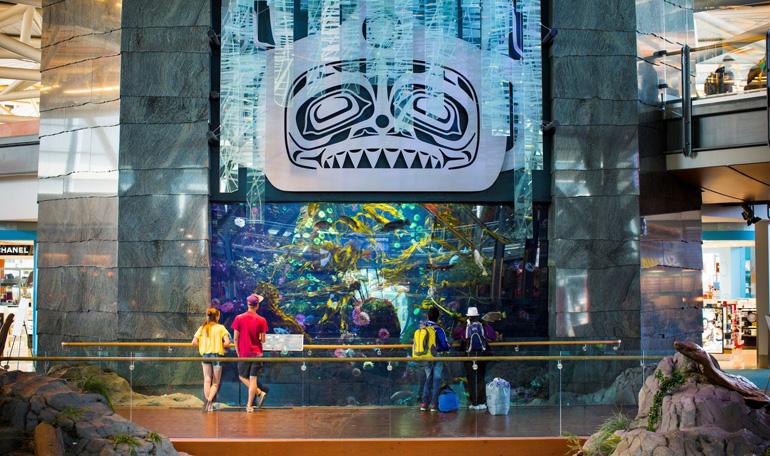 Flughafen Vancouver: Aquarium