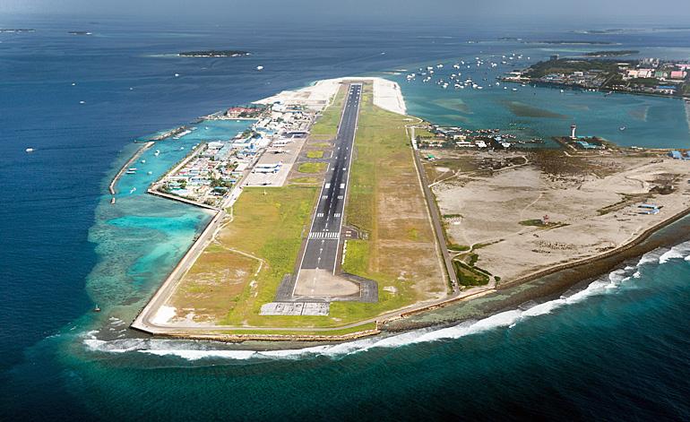 Malé Flughafen