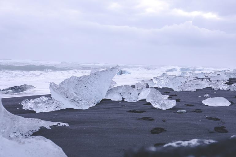 Island: Eisbrocken