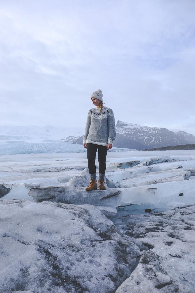 Island: Gletscher