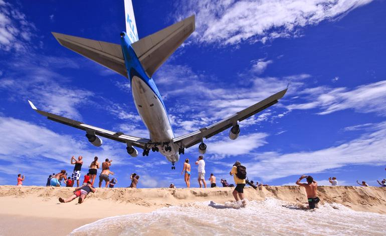 Saint Maarten Flughafen