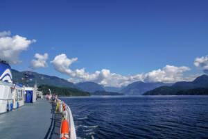 Vancouver: Fähre auf dem Wasser