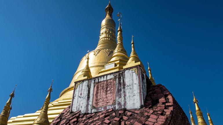 Myanmar: Goldene Turmspitze