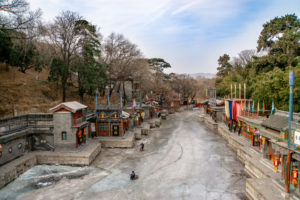 Peking: Sommerpalast im Winter