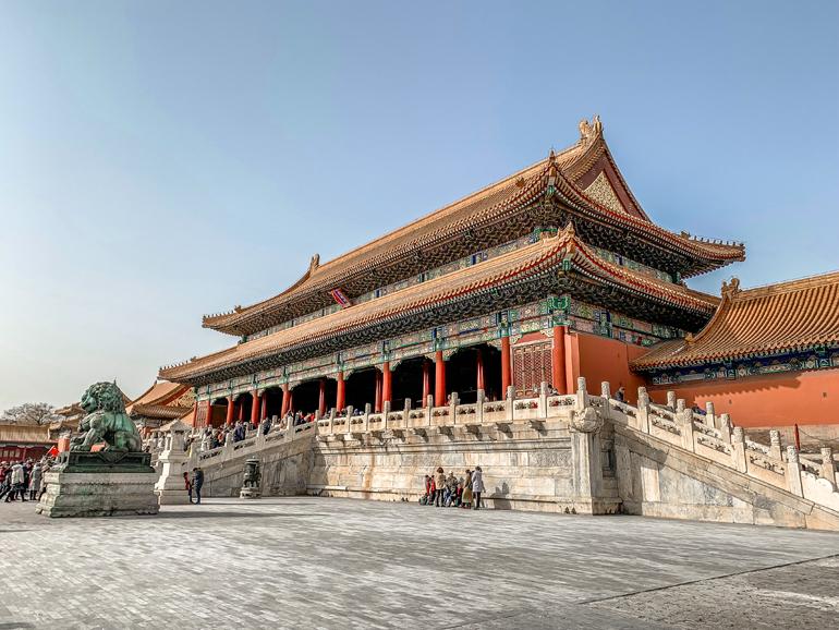 Peking: Verbotene Stadt aus Palästen