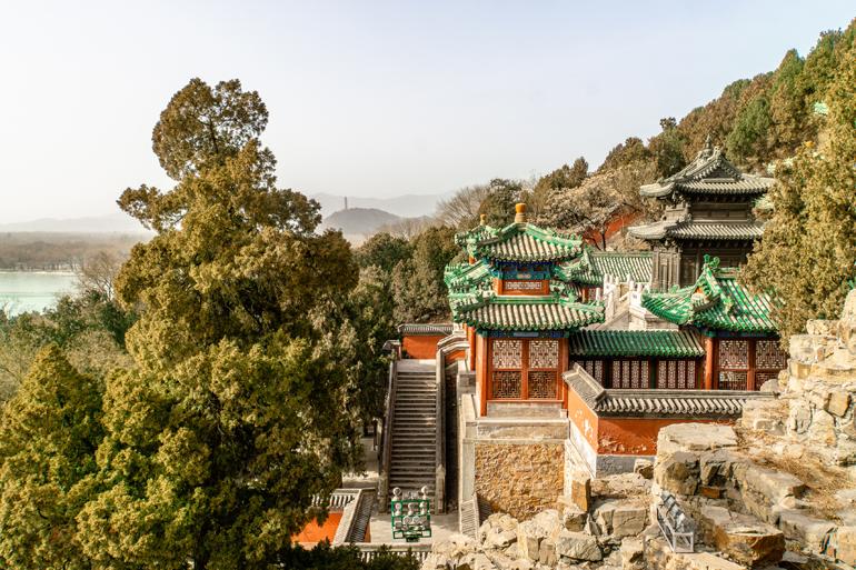 Peking: Ausblick auf den Sommerpalast