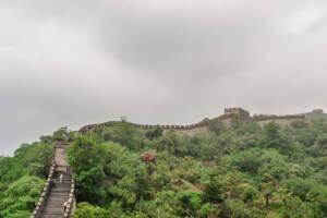 Peking: Blick über die chinesische Mauer