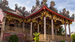 Malaysia: Ein traditionelles Gebäude