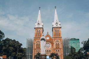 Ho Chi Minh City, Vietnam: Kathedrale