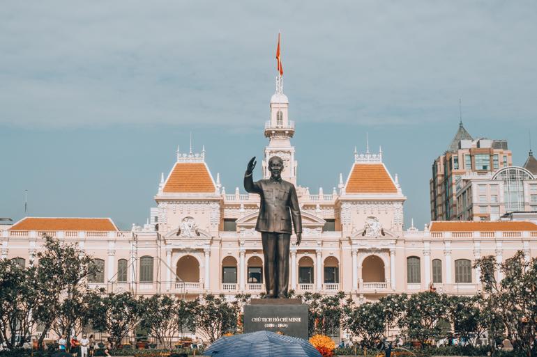Ho Chi Minh City, Vietnam: Rathaus