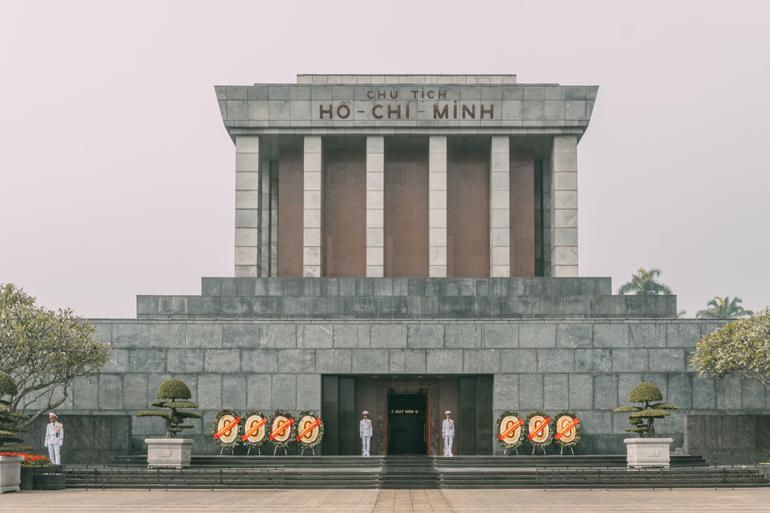 Hanoi, Vietnam: Mausoleum