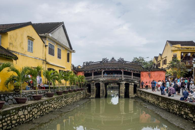 Hoi An, Vietnam: Japanische Brücke
