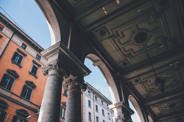 Bologna: Arkaden