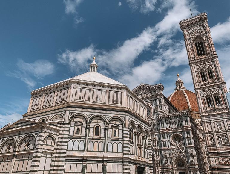 Florenz Geheimtipps: Eine Kirche aus der Nähe.