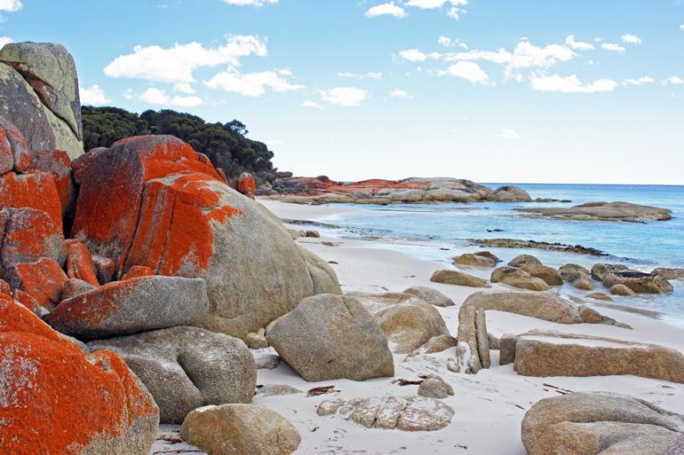 Bay of Fires, Tasmanien, Australia