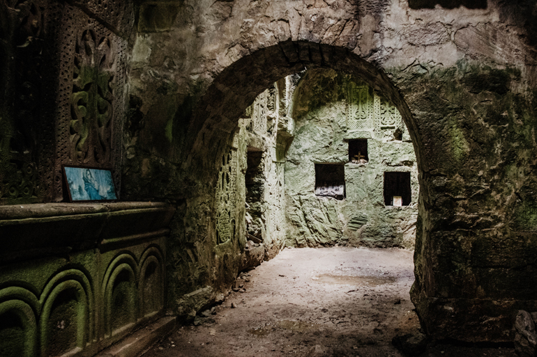 Das Matosavank Kloster von innen.