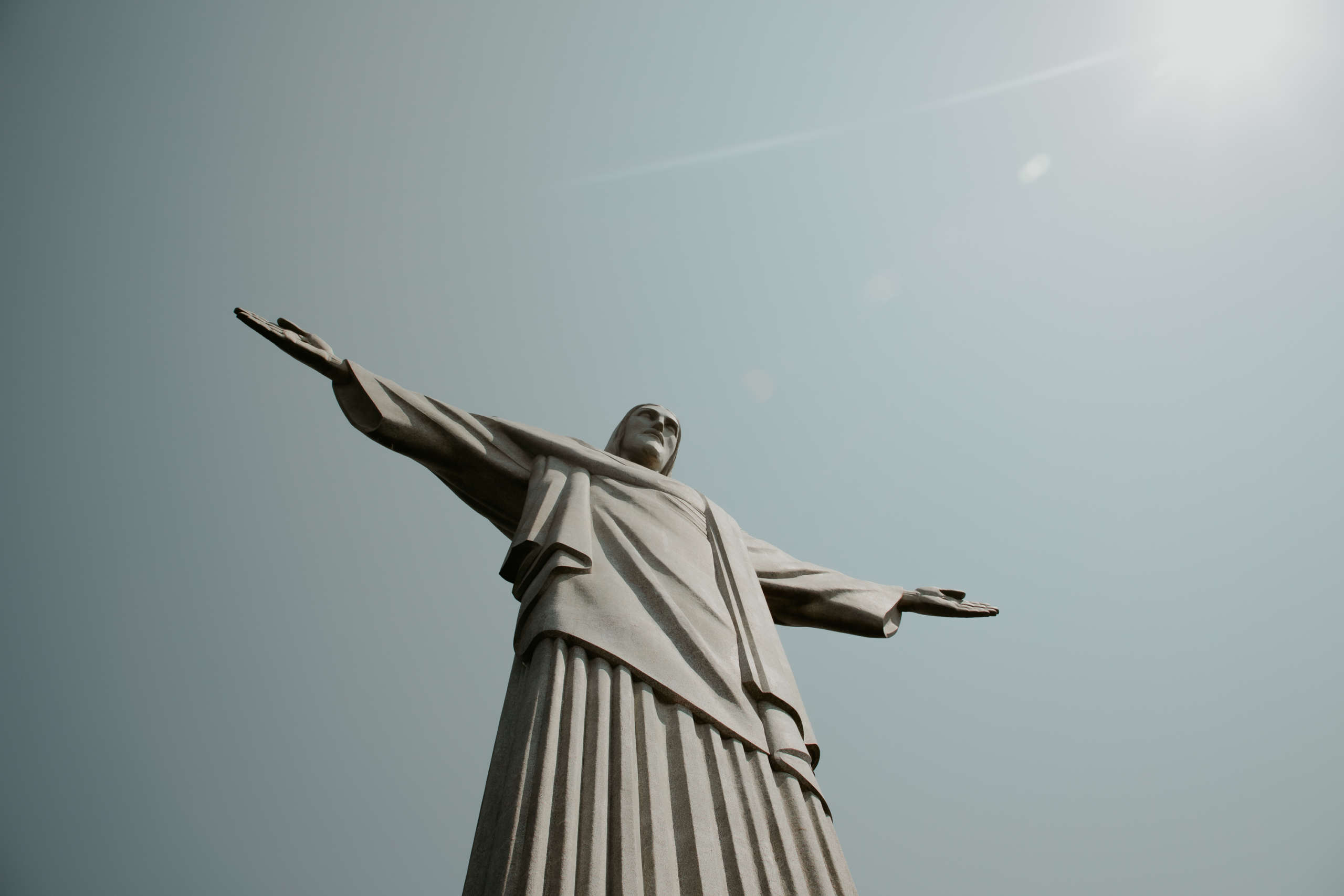 Die Christusstatue auf dem Corcovado.