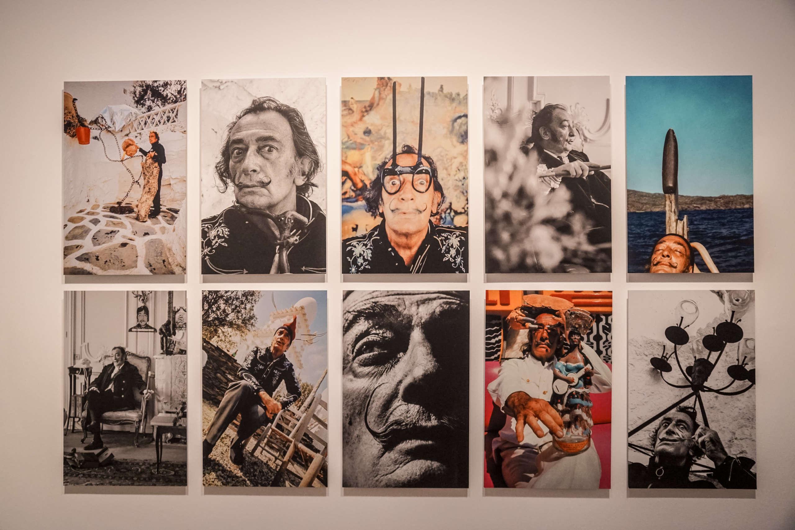 Bildercollage von Salvador Dali