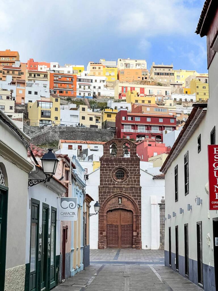 San Sebastián, die Hauptstadt von La Gomera, ist Start und Ziel des Weiterwanderwegs GR 132.