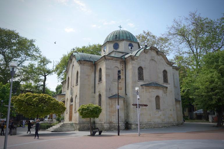 Eine Kathedrale in der schönen Stadt Varna in Bulgarien.