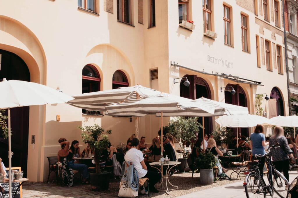 Das Cafe Betty'n Caty ist ein Geheimtipp im Berliner Szeneviertel Prenzlauer Berg.