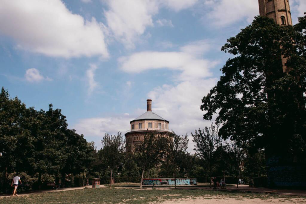 Der Park am Wasserturm in Berlin ist ein echter Geheimtipp.