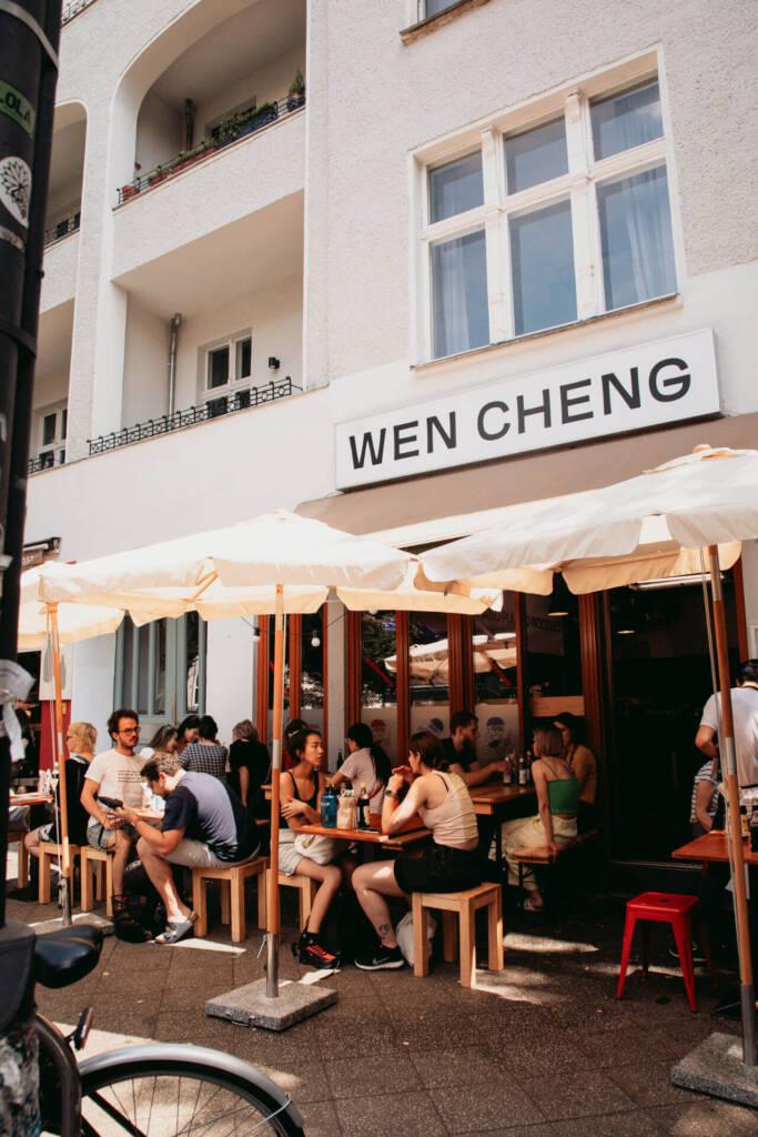 Das Berliner Restaurant Wen Cheng im Prenzlauer Berg ist bei Einheimischen sehr beliebt.